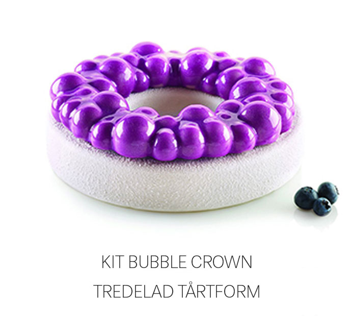 Kit Bubble Crown – Tredelad tårtform