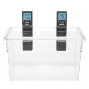 Kantin 83 liter med utskuret lock till 2st Sous Vide Professional CHEF Series PolyScience