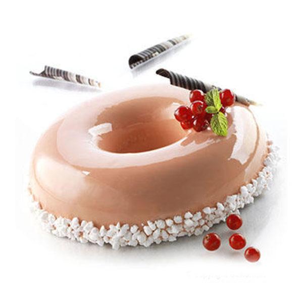 Kit Lady Queen - Två tårtformar i livsmedelsgodkännt silikon - Silikomart