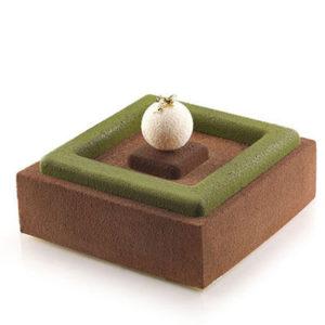 Insert Decor Kvadrat skapar kantiga fyllningar i din tårta.