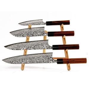 Piotr the bear Knivställ - för 4 knivar