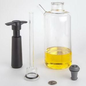 Aladin Flaskrök Flaska i borosilikatglas som används för att kunna röka både flytande och fasta produkter 100%chef
