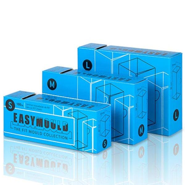 Easymould kvadrat 4cm 6cm 8cm