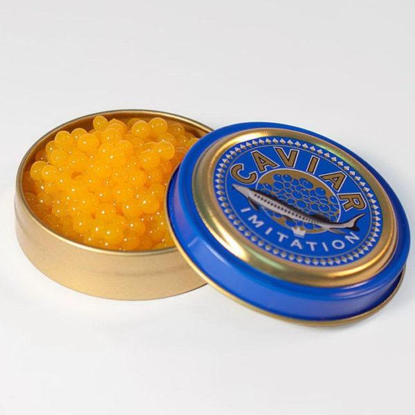 Kaviarburk 12-pack från 100%chef caviar can, för kaviar av puréer öppen