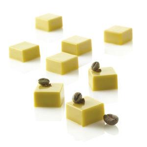Micro Square5 - Silikonmatta med 35 fyrkantiga formar i mikroformat.
