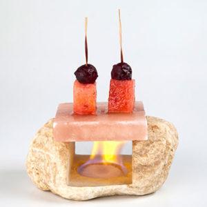 Marmorstativ till Saltsten Himalaya 10-14 cm - 100%chef med två pinnar