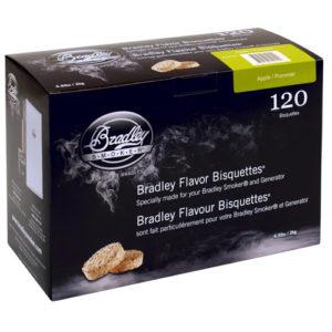 Rökbriketter till Bradley Smoker – Äpple 120-pack