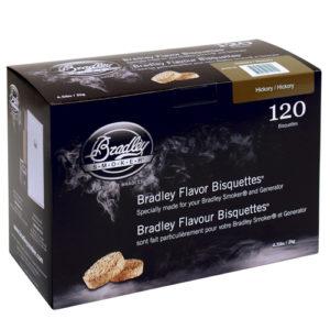 Rökbriketter till Bradley Smoker – Hickory 120-pack