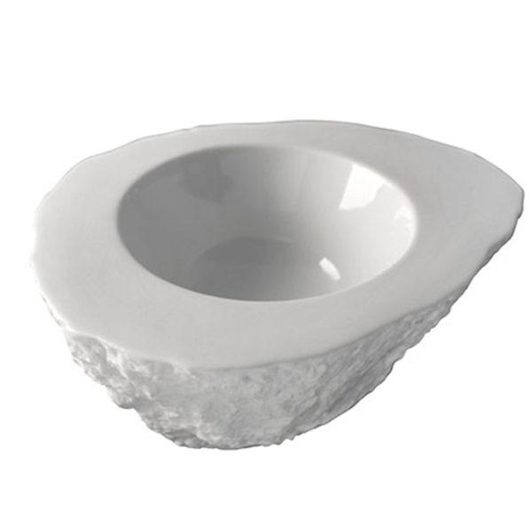 Rock Large stenformad skål från 100%chef