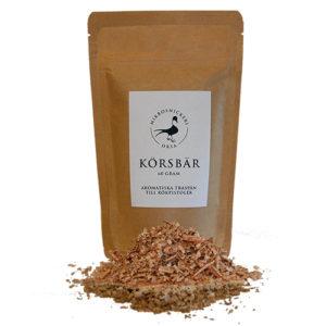 Rökspån från Orsa Mikrosnickeri – Körsbär 60g