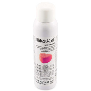 Velvet sprayfärg ROSA mini 150ml Silikomart