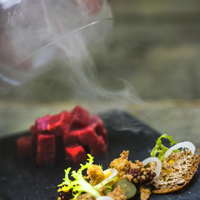 Konsten att röka mat