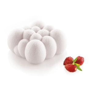 Cloud 120 silikonform från silikomart i samarbete med Andrea Valentinetti. Molnformade silikonformar med 6 formar per ark. Formen är tillverkad i livsmedelsgodkänt silikon.