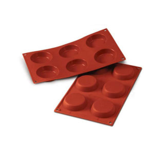 SF046 Flan Mould 52ml - silikonform från Silikomart