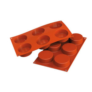 SF205 Cylinders 103,5ml - silikonform från Silikomart