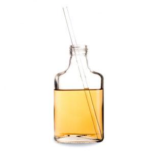 Sugrör av glas 24-pack Straight Glass Straw 160/0021