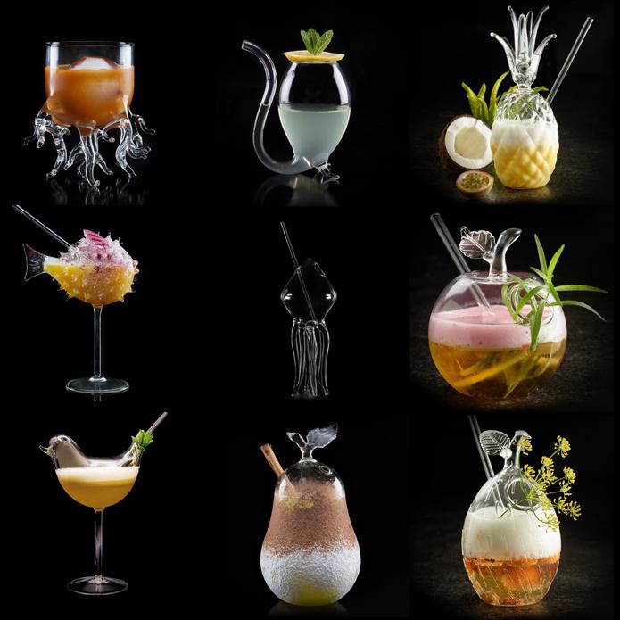Unika Drinkglas