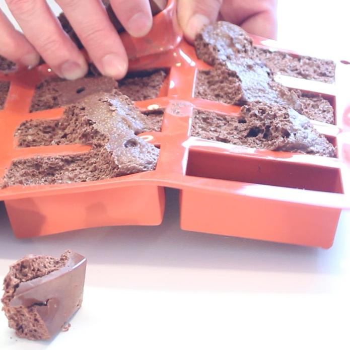 Choklad ur formen