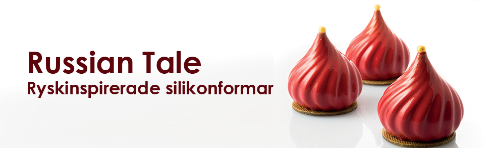Russian Tale silikonform form från Silikomart