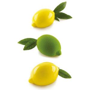 Limone & Lime 120 är en silikonform från Silikomart Professional där du skapar 3D kopior av citroner och lime på 120ml. Perfekt för en dessert!