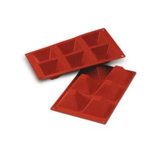 SF007 Pyramids 90ml - silikonform från Silikomart - Söders gourmet