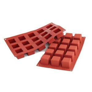 SF105 Cube 42ml - silikonform från Silikomart - Söders gourmet