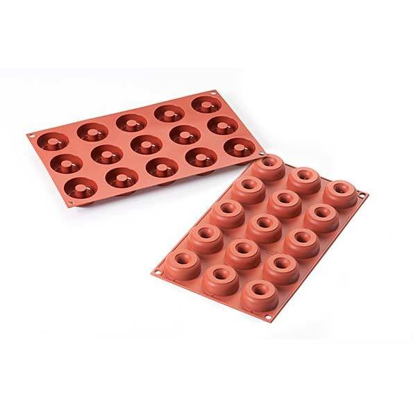 SF171 Small Donuts 22ml - silikonform från Silikomart - Söders gourmet