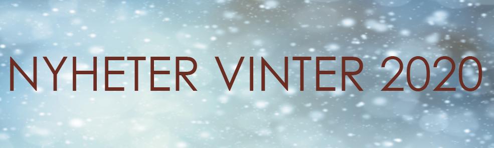 Nyheter Vinter 2020