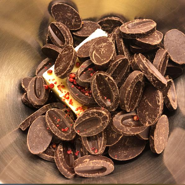 Choklad ska smältas