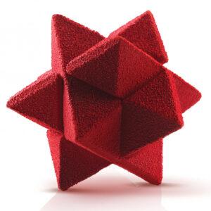 Star Game 35 silikonform från Silikomart Professional - Söders gourmet