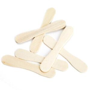 Glasspinnar Magnum i trä 500-pack för glasstillverkning - Söders gourmet