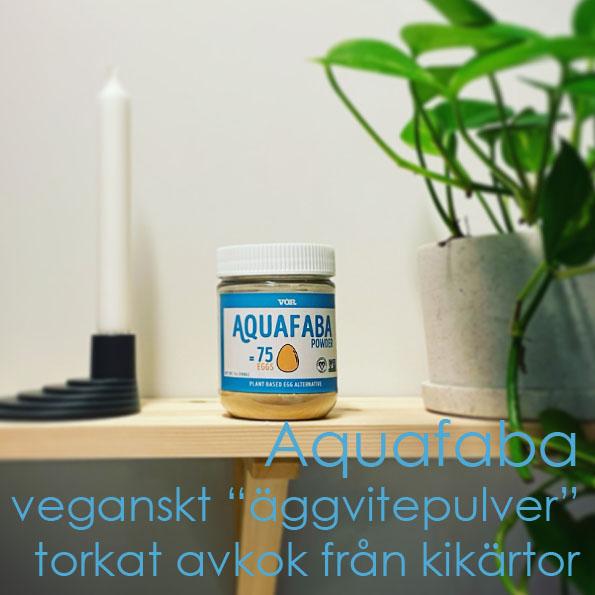 """Aquafaba veganskt """"äggvitepulver"""" torkat avkok från kikärtor söders gourmet"""