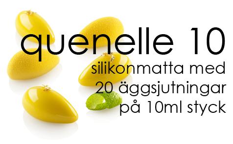 quenelle 10 från Silikomart professional hittar du här hos Söders gourmet