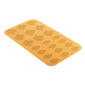 Bosco GN 1/1 Foresta Bladform i silikon Från Silikomart Professional är en silikonmatta med måtten 470 x 270mm passar restaurangens plåtar