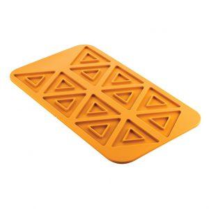 Triangolo 2.0 Silikonmatta GN 1/1 Från Silikomart Professional - sverige - Söders gourmet - silikonform trianglar