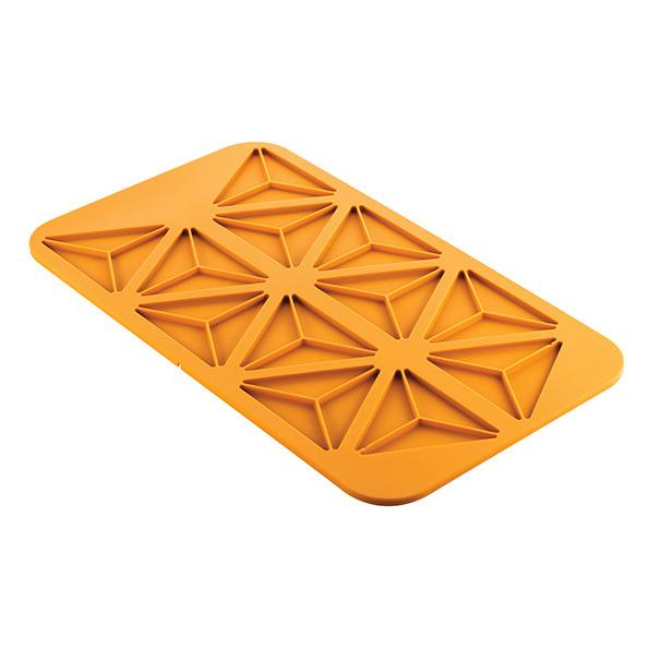 Triangolo 3.0 Silikonmatta GN 1/1 Från Silikomart Professional - sverige - Söders gourmet - silikonform trianglar