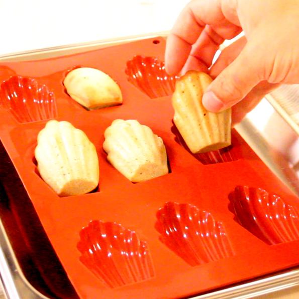 Madeleinekakor med brynt smör
