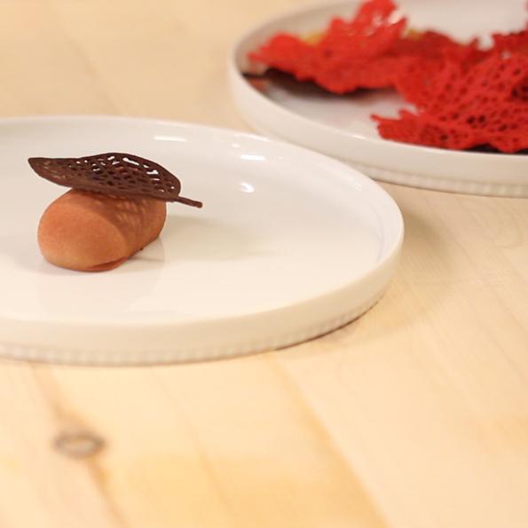 Chokladflarn på mousse